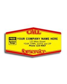 Poly Laminated Weatherproof Label