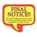 Final Notice Labels  (1635) - Popular Labels   - Labels | Printez.com