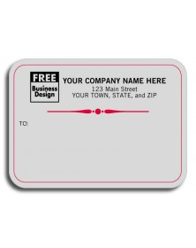 Padded Mailing Labels - Gray Conservative (1684) - Mailing Labels  - Labels | Printez.com