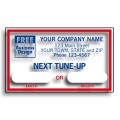 1690D, Windshield Labels, Next Tune-Up (Item #1690D) - Popular Labels   - Labels | Printez.com