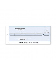 Compact General Disbursement Center Check