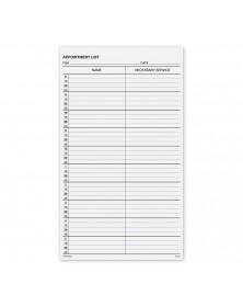 Appointment List-2 Column 15 Min 8-6