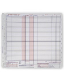 Daily Control Sheets