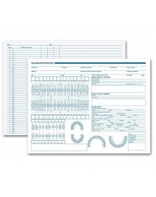 Dental Exam Record Primary Arch & Geometric Diagrams