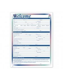 New Patient Registration Form One Sided Prism Design