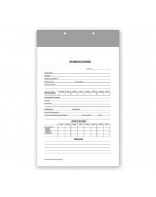 Work Sheet Holders Legal 2 Piece
