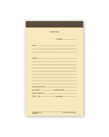 Binders Work Sheet