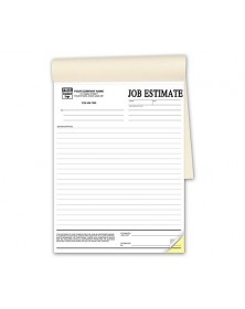 Duplicate Job Estimate Forms In Books