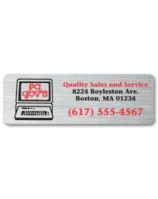Weatherproof Cheap Advertising Labels