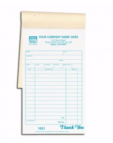 Carbon Copy Sales Receipt Books
