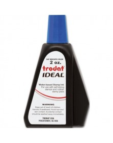 Blue Ink Refill for Self-Inking Stamp