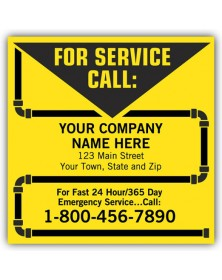 Contractor Service Custom Labels