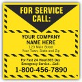 Contractor Service Labels (Item #CL16) - Popular Labels   - Labels | Printez.com