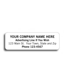 High Gloss Return Address Labels