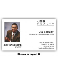 Personalized Full Color Labels - Business Card (3994) - Labels  -  | Printez.com