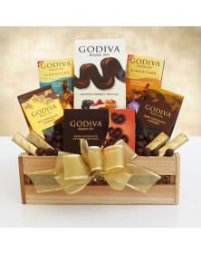 Godiva Sampler Gift Crate