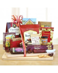 Thanksgiving Cheese and Snack Food Gift Board