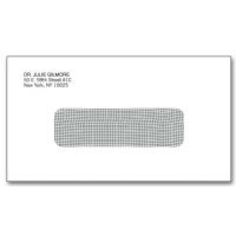 6 single gummed window envelopes 5026 at print ez for Window envelopes