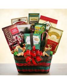 Seasons Greetings Gourmet Merrymaker Food Gift Basket