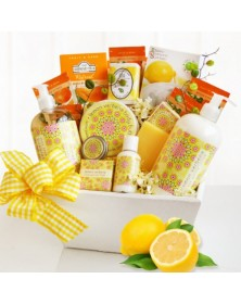 Citrus Classic Spa Gift Basket