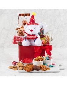 Beary Happy Birthday Food Gift Basket