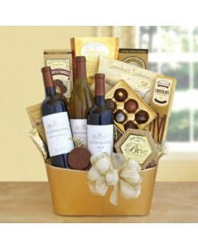 Golden Vineyard Gourmet Wine Gift