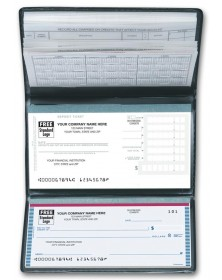 Personal Size Check Register Not Imprinted banking-supplies-journals