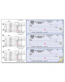 3 On A Page Business Size Checks For Hourly Payroll