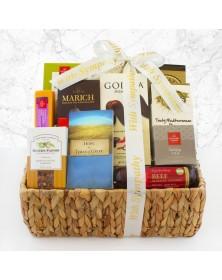 Caring Condolences Sympathy Food Gift Basket
