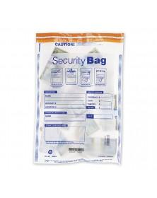Single Pocket Deposit Bag Clear