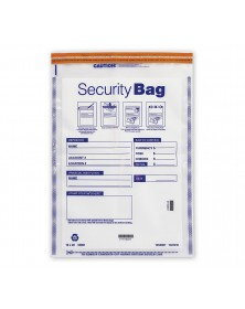 Currency Shipping Deposit Bag Clear