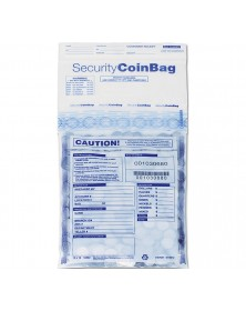 Heavy Duty Coin Deposit Bag Clear Small