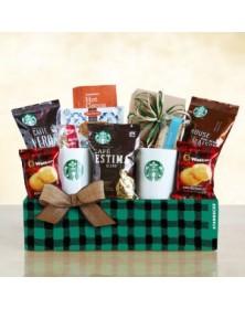 Starbucks Holly Jolly Food Gift Basket