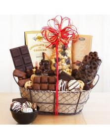 Chocolate Delights Food Gift Basket