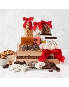 Crunch Time Sweet Snacks Food Gift Basket