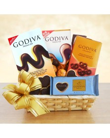 A Gift of Godiva Food Gift Basket