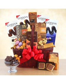Godiva Connoisseur Food Gift Basket