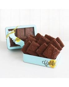 Milk Chocolate Graham Dunks Gift Tin Box