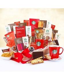 Starbucks Super Spectacular Holiday Food Gift Basket