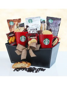 Starbucks Coffee and Tea Special Food Gift Basket