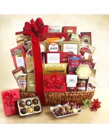 Holiday Gourmet Celebration Food Gift Basket
