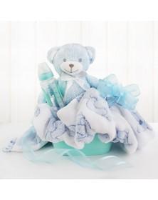 Baby Boy Bundle Gift Basket