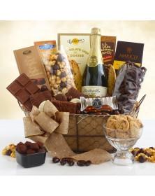 Sparkling Chocolate Celebration Gift Basket