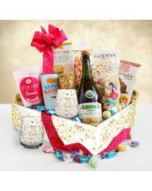 Birthday Sparkling Celebration Food Gift Basket