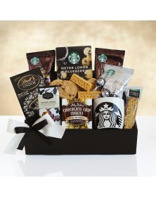 Starbucks Holiday Statement Food Gift Basket