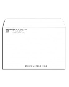 White Mailing Envelope - Open Top