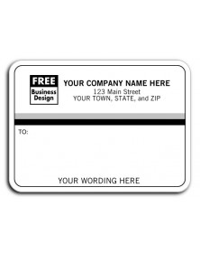 Simple White Padded Address Labels