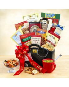 Get Well Wishes Food Gift Basket