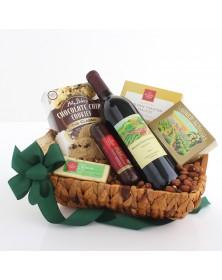 Cheers Food Gift Basket