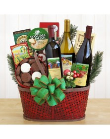 Wine Country Bounty Food Gift Basket